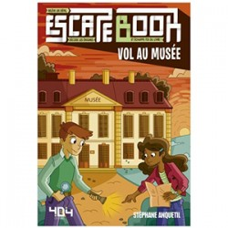 ESCAPE BOOK JUNIOR – VOL AU MUSEE