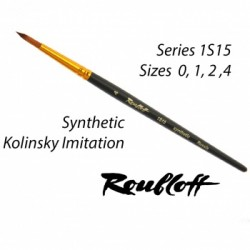 Roubloff Fine-Art Brush - 1S15-0 Detail (Synthetic)