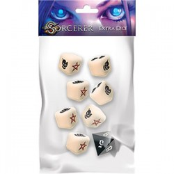 Sorcerer: Extra Dice - White Wizzard Games