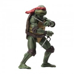 LES TORTUES NINJA ( TEENAGE MUTANT NINJA TURTLES TMNT ) 1990 MOVIE ACTION FIGURINE Raphael 18 CM