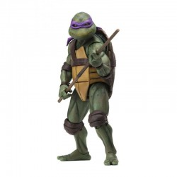 LES TORTUES NINJA ( TEENAGE MUTANT NINJA TURTLES TMNT ) 1990 MOVIE ACTION FIGURINE Donatello 18 CM