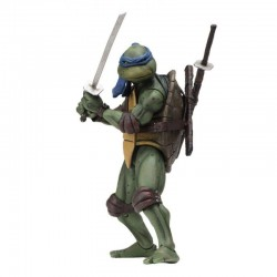 LES TORTUES NINJA ( TEENAGE MUTANT NINJA TURTLES TMNT ) 1990 MOVIE ACTION FIGURINE Leonardo 18 CM