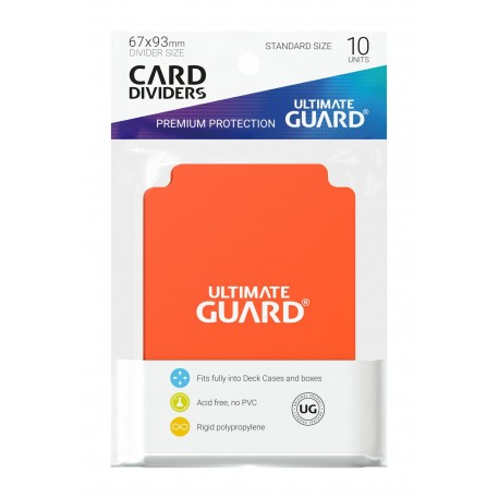 Séparateurs de Cartes Ultimate Guard Orange