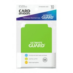 Séparateurs de Cartes Ultimate Guard Vert Clair