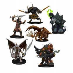 Figure Pack Descent into Avernus: Arkhan the Cruel and The Dark Order - D&D Icons of the Realms