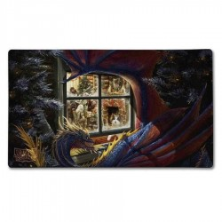 Tapis de Jeu Dragon Shield Christmas Dragon