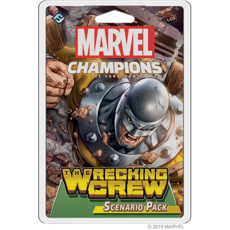 VO - The Wrecking Crew Scenario Pack - Marvel Champions : The Card Game