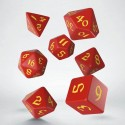 Classic RPG Runic pack dés rouge & jaune (7)