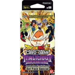 VF - LOT de 8 Special Pack Série 8 - Dragon Ball Super Card Game