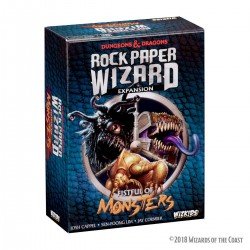 Dungeons & Dragons extension jeu de plateau Rock Paper Wizard: Fistful of Monsters