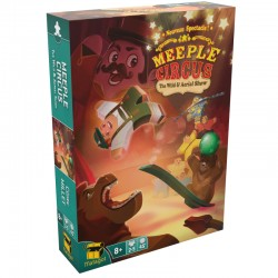 MEEPLE CIRCUS The Wild Animal and Aerial Show