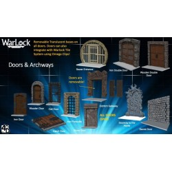 WarLock Dungeon Tiles: Doors & Archways