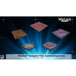 WarLock Dungeon Tiles: Summoning Circles