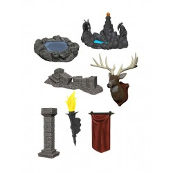 WizKids Deep Cuts packs miniature à peindre Pools & Pillars