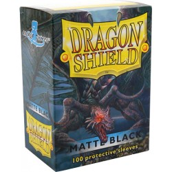 Protèges cartes Dragon Shield - Matte Black