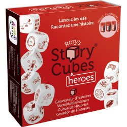 RORY'S STORY CUBES : HEROES (ROUGE)