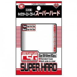 60 SUR Protèges Cartes KMC Character Sleeve Guard Super Hard