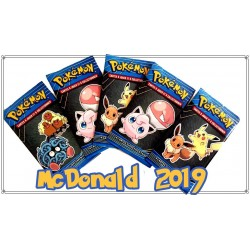 Booster Pokemon Promo MCDo 2019