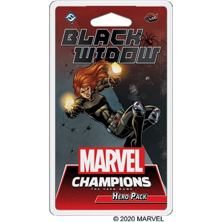 VO - Black Widow Hero Pack - Marvel Champions : The Card Game