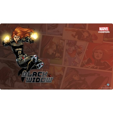 Tapis de Jeu Black Widow Marvel Champions: The Card Game