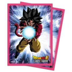 65 Protèges Cartes Dragon Ball Super - Goku Super Saiyan 4 - Ultra Pro