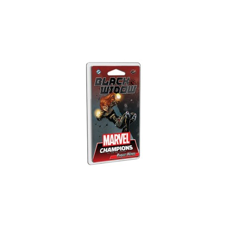 VF Black Widow - Paquet Héros - Marvel Champions : Le Jeu de Cartes