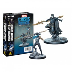 Corvus Glaive and Proxima Midnight - Marvel Crisis Protocol