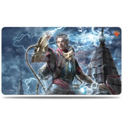 Tapis de jeu - War of the Spark Alternate Art Ral Zarek - Magic The Gathering