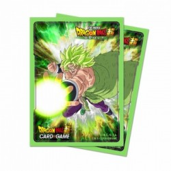 65 Protèges Cartes Dragon Ball Super - Broly - Ultra Pro