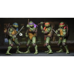 Collection 4 Figurines Les Tortues ninja figurine 1/4 - teenage mutant ninja turtles