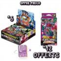 VF - PRECO 12/03/2020 - 6 Boites de 24 Boosters Série 9 - DRAGON BALL SUPER Card Game