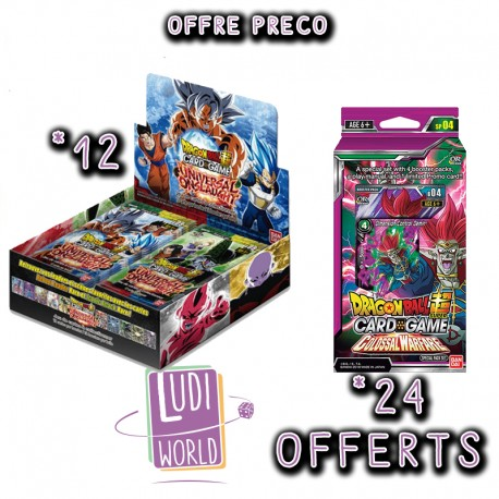 PRECO 12/03/2020 - 1 Booster Série 9 - DRAGON BALL SUPER Card Game