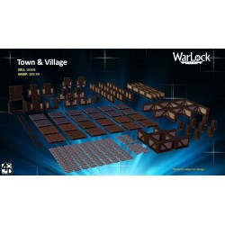 WarLock Dungeon Tiles: Town & Village