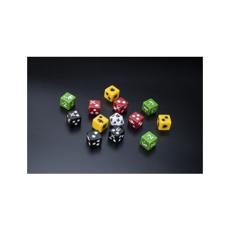 The Elder Scrolls: Call to Arms Dice Blister