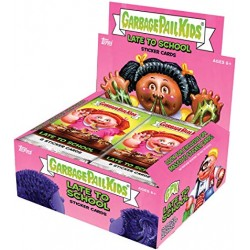 Collection Complète SET B Late To School (Garbage Pail Kids) - Les Crados 2020