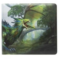 Classeur Card Codex Zippé XL Black - Dragon Shield