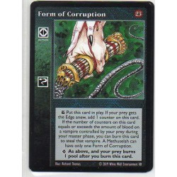 VO - Form of Corruption - Vampire The Eternal Struggle - VTES - V25