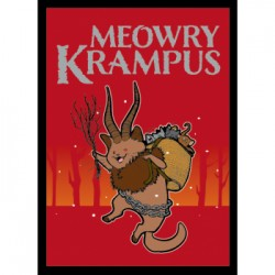 50 Protèges Cartes Legion - Matte Sleeves - Krampus