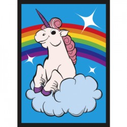 50 Protèges Cartes Legion - Rainbow Unicorn