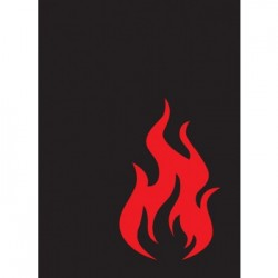 50 Protèges Cartes Legion - Gloss Sleeves - Iconic - Fire