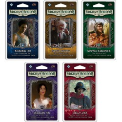 VO - Collection des 5 Investigator Starter Deck - Arkham Horror: The Card Game