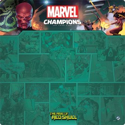 Tapis de Jeu 1 à 4 Joueurs Red Skull Marvel Champions: The Card Game