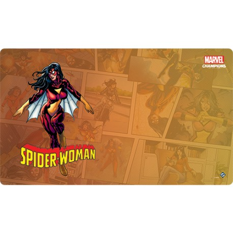 Tapis de Jeu Spider-Woman Marvel Champions: The Card Game