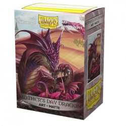 100 Protèges cartes Dragon Shield Illustrés Mother's Day Dragon 2020 Standard
