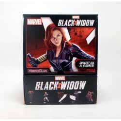 Brick de 24 Boosters Black Widow Movie - Marvel HeroClix - Countertop Display