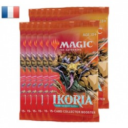 VO - 1BOITE de 12 Boosters COLLECTOR Ikoria: Lair of Behemoths - Magic The Gathering