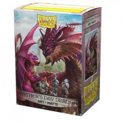 100 Protèges cartes Dragon Shield Illustrés Father's Day Dragon 2020 Standard