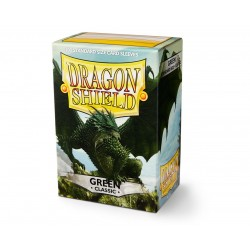 100 Protèges cartes Dragon Shield - Green