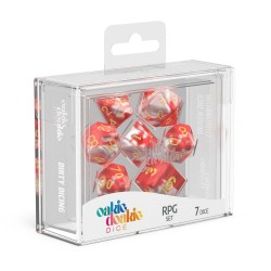 Oakie Doakie Dice dés RPG-Set Gemidice - Red Sky