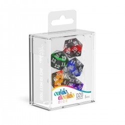 Oakie Doakie Dice set dés Spindown D20 Enclave